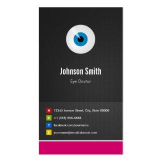 Oculista del cuidado del ojo - innovador creativo tarjetas de visita