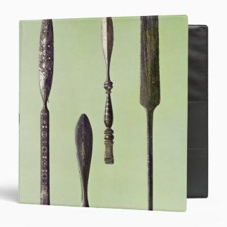 Oculist's instruments, c.270 binder