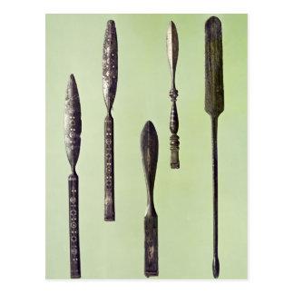 Oculist's instruments, c.270 postcard