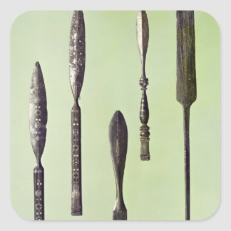 Oculist's instruments, c.270 square sticker