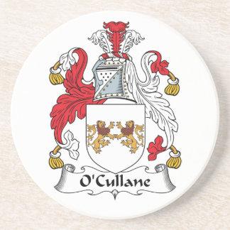 O'Cullane Family Crest Drink Coaster