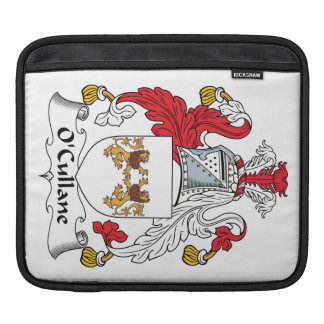 O'Cullane Family Crest iPad Sleeves
