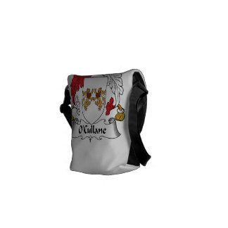 O'Cullane Family Crest Messenger Bags