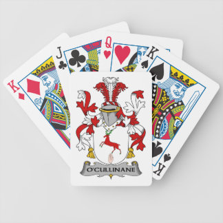 O'Cullinane Family Crest Bicycle Playing Cards