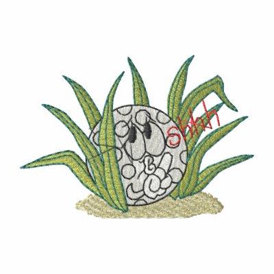 Ocultación de la pelota de golf camiseta polo bordada