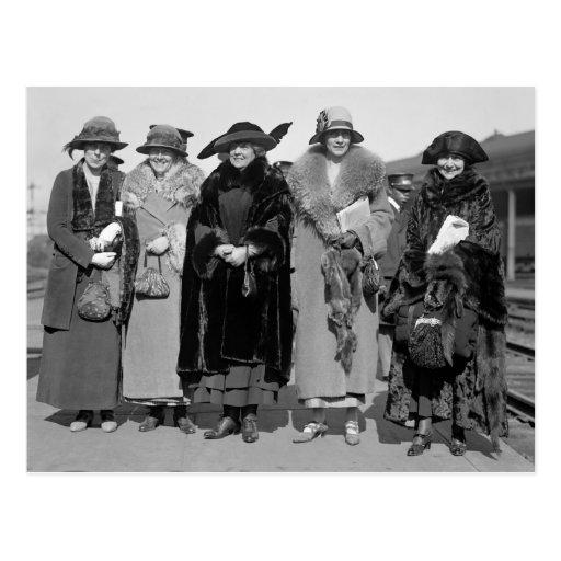 Oculte a sus mascotas: 1923 postales