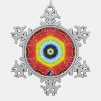 Oculus Kaleidoscope Snowflake Ornament
