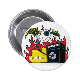 Oculus Sinister Pinback Button