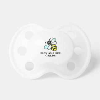 Ocupado como abeja puede ser el dibujo de la abej chupetes de bebé