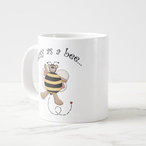 Ocupado como abeja tazas extra grande