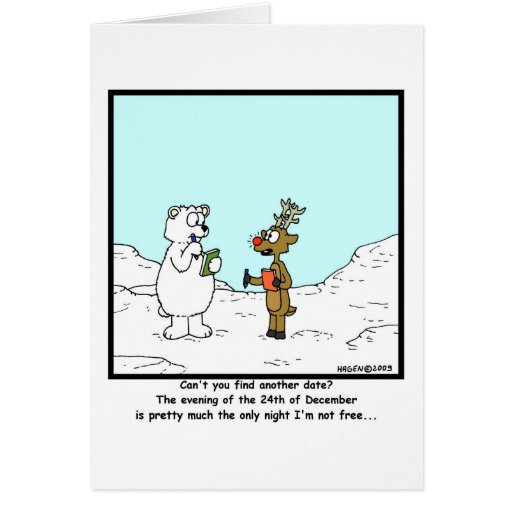 Ocupado el 24 de diciembre tarjeta de felicitación