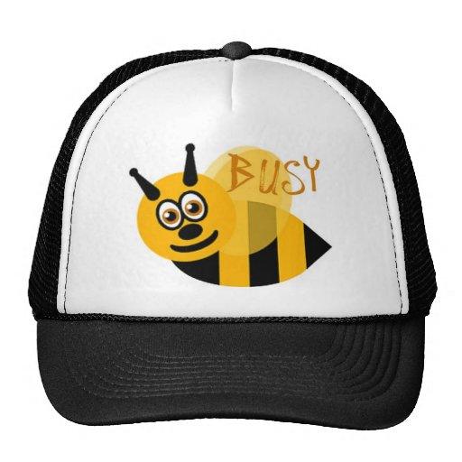 Ocupado manosee la abeja linda gorros