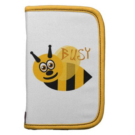 Ocupado manosee la abeja linda organizadores