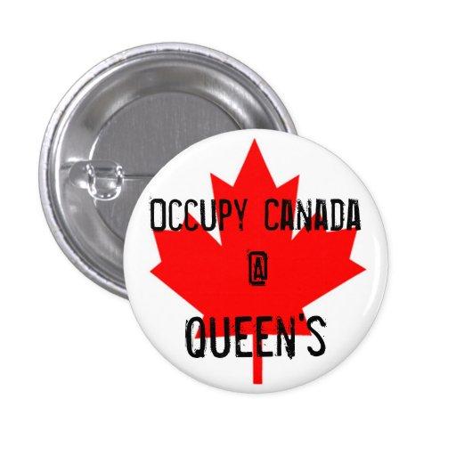 Ocupe a la reina de Canadá @ - la universidad de r Pin