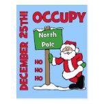 Ocupe a Polo Norte Tarjeta Postal