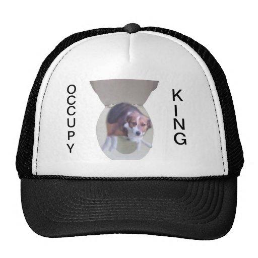 Ocupe a rey Hat Gorro De Camionero