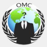 Ocupe al pegatina de OMC