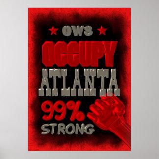 Ocupe Atlanta el 99% fuerte Impresiones