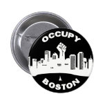 Ocupe Boston Pin Redondo 5 Cm