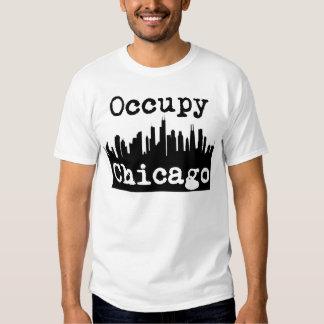 Ocupe Chicago Playera
