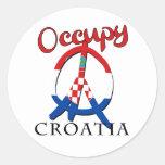 Ocupe Croacia Etiqueta