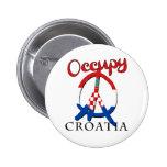 Ocupe Croacia Pin