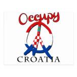 Ocupe Croacia Tarjeta Postal