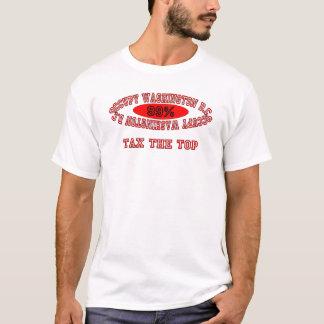 """Ocupe DC - """"grave"""" el camisetas ligero superior"""