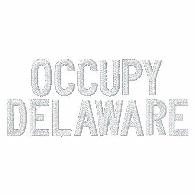 Ocupe Delaware Chaqueta Bordada De Entrenamiento