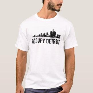 Ocupe Detroit Playera