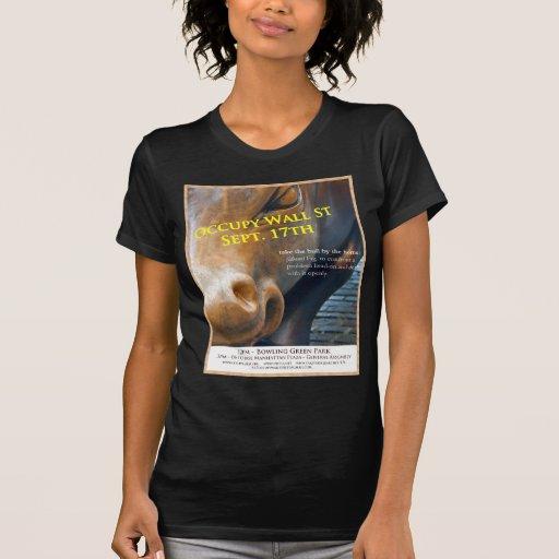 Ocupe el aviador de la original de Wall Street Camisetas