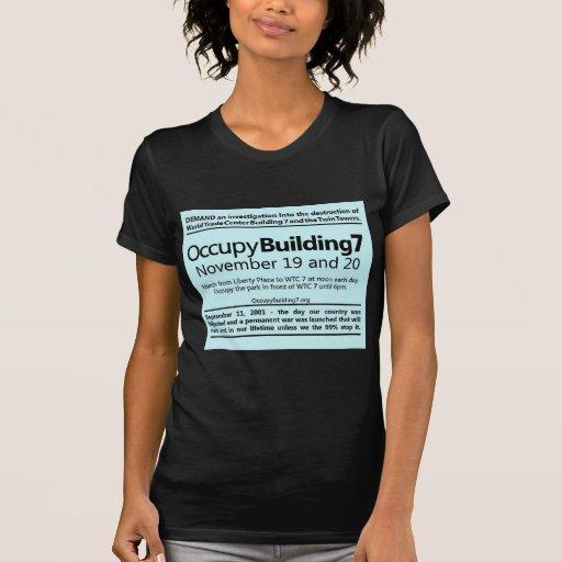 Ocupe el aviador de la protesta del World Trade Camiseta