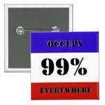 Ocupe el botón de encargo del Pin de OWS el 99% Sq