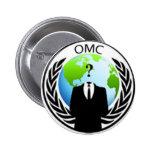 Ocupe el botón de OMC Pins