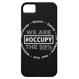 Ocupe el caso de Wallstreet/por todo el mundo del Funda Para iPhone 5 Barely There