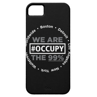 Ocupe el caso de Wallstreet/por todo el mundo del Funda Para iPhone SE/5/5s