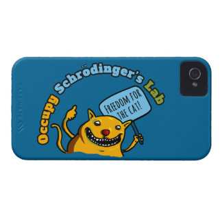 Ocupe el laboratorio de Schrodinger Funda Para iPhone 4 De Case-Mate