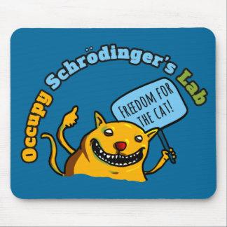 Ocupe el laboratorio de Schrodinger Mousepads