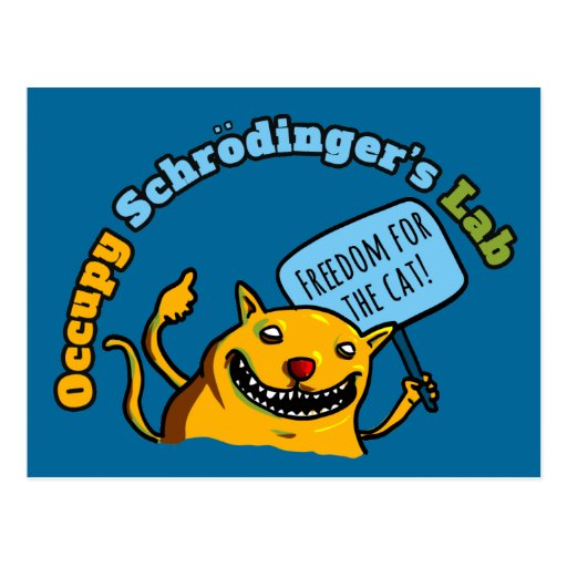 Ocupe el laboratorio de Schrodinger Postal