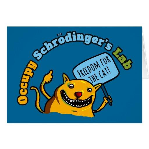 Ocupe el laboratorio de Schrodinger Tarjetón