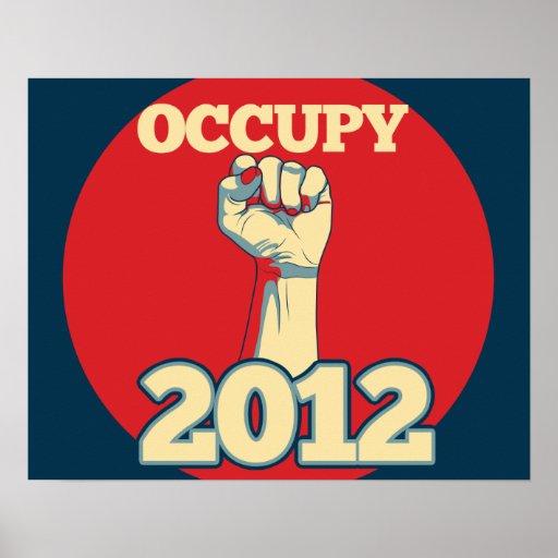 Ocupe el movimiento 2012 póster