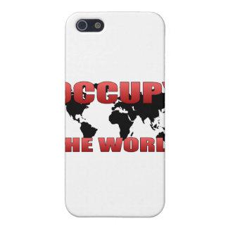 Ocupe el mundo iPhone 5 funda