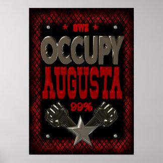 Ocupe el poster fuerte de la protesta 99 de August