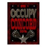 Ocupe el poster fuerte de la protesta 99 de la con postal