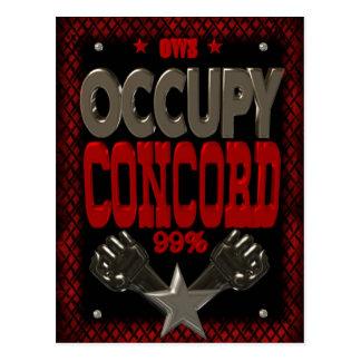 Ocupe el poster fuerte de la protesta 99 de la tarjetas postales