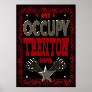 Ocupe el poster fuerte de la protesta 99 de Trento