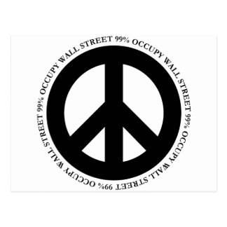 ocupe el wallstreet postales