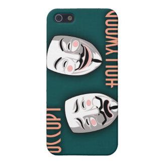 Ocupe Hollywood iPhone 5 Fundas