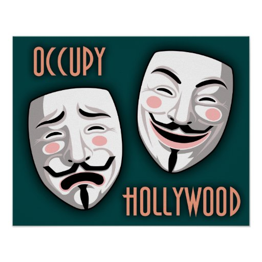 Ocupe Hollywood Póster