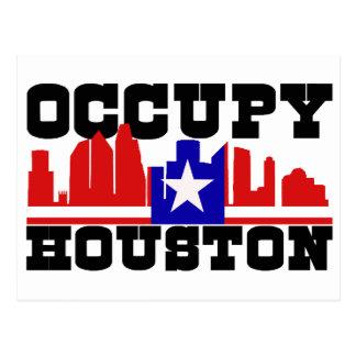 Ocupe Houston Postales